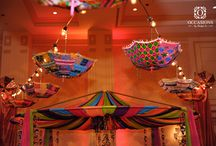 Garba Fever / One of the best parts of a wedding? Garba of course! Here are some unique garba decorations!