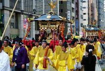 Japon : Festivals & Matsuri / Découvrez les festivals japonais, les matsuri. Colorés et animés, ils ont lieu tout au long de l'année.