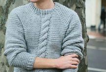 Horgolt ruhák férfiaknak / Crochet men