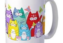 Mug with cat / by mini clipper
