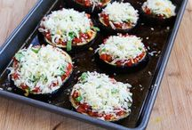 Ali's recipes / http://www.kalynskitchen.com/2012/08/recipe-for-julia-childs-eggplant-pizzas.html?m=1