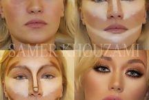 contornos y maquillaje