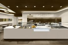 Fast food design / Interiér gastro