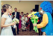 Ślub Moniki i Staszka. / Nasz animator urozmaicił czas na Weselu Staszka i Moniki. Młodej Parze życzymy dużo szczęścia na nowej drodze życia oraz serdecznie dziękujemy za udostępnienie zdjęć.