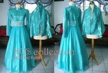 Hijab Party Dress 2014 / #weddingdress #weddinggown #kebayadress #gamispestamuslim #gaunpengantin #rumahneta #nyimasbutiek