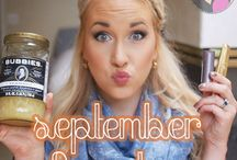 Monthly Favorites / Each month I round up all of my favorites products to tell you all about them!