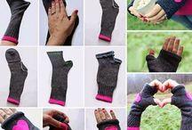 stulpen aus Socken