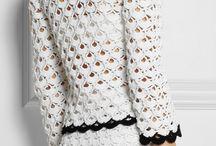 conjuntos de croche