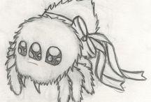 chibi spider