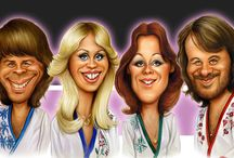 Caricatures Of Abba