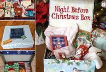 Night before Christmas box
