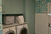 Laundry Room Dreams / Laundry room inspiration / by Jessica Hinz