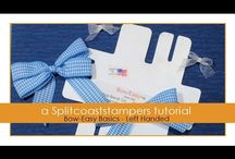 Flowers & Bows : Tutorials / How to make flowers and/or bows.