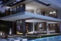 Tervezett ház