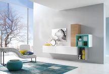 Modern design olasz nappali / A lakásunk legyen az otthonunk. Monte Grappa Mobili olasz bútorok
