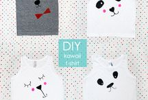Textiel stiften DIY / fabric markers / Leuke DIY ideetjes om zelf textiel stiften te gebruiken. Voor kids maar ook voor volwassenen.