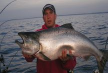 Fishing/Charters/Guides / Algoma Wisconsin is known as one of the best fishing ports on the Great Lakes.  Our Charter Captains and Guides are at the ready to lead you to the BIG one!