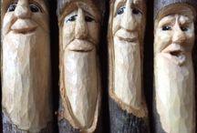 trä gubbar