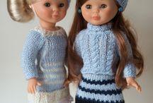 ropa ganchillo para muñecas
