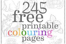 Colour pages