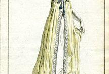 Платья в рисунке