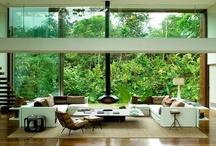 Malaysian jungle living room