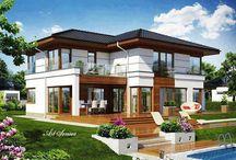 Házak , Houses