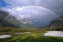 Nature ,Skies , Rainbows , Waterfalls Etc..