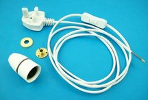 Lamp kits / Lamp kits are a great way to buy all you need to wire a lamp. Rewire an existing or add the kit to wood or a ceramic vase.