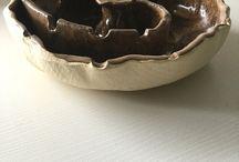 cinzeiros de cerâmica