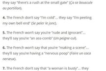 FRENCH QUOTES & PHRASES