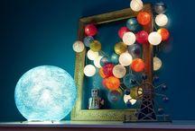 Home Decor - Light & Candles / Zorg voor de juiste sfeer in huis en in de tuin met lampen en kaarsjes. / Create the right atmosphere in home and garden with lights and candles.
