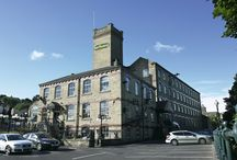 Our Showroom / Our extensive showrooms are housed in a magnificent former textile mill near Halifax. A huge, impressive display space and a source of inspiration for everything retail & hospitality. Get in touch and let us know when you're coming.