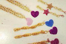 Colección LOVE & STARS ✨ / Pulseras y collares en varios acabados