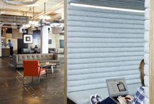 Work Space Inspiration / Does your workplace need a boost? Revel in these dreamy interiors with us!