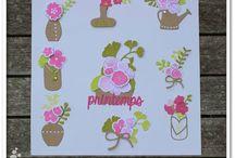 Joli bouquet #4enSCRAP / Les créations de l'Equipe Créative