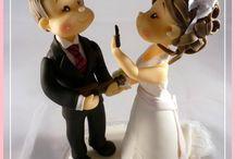 figurine mariées