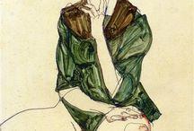 •Egon Schiele•
