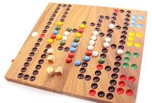 Classic Wooden Board Games