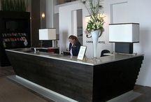 Reception Area Board 1