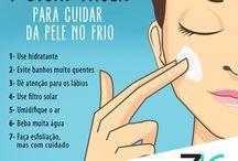 cuidados do rosto