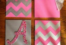 Girls room projects