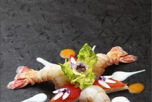 molekularne Dania i sushi