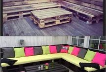 COUCHES FROM PALLETS