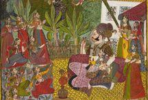 Jodhpur style painting