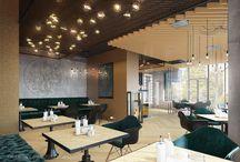 LAMPA CAFE | DESIGN by ALEXEY RUBASHENKA | MVK'D'STUDIO ARCHITECT / Design interior cafe