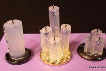 Glue Stic Candles