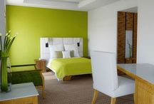 Peaceful Atmosphere in Green Bedroom Concepts