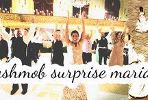 Mariage et bla blabla / La fête et l'émotion, le décor, la robe...