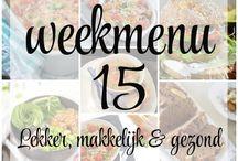 Eef Kookt Zo | Weekmenu's / Alle weekmenu's die op Eef Kookt Zo zijn verschenen op een rij.
